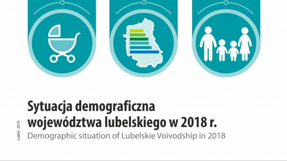 Demographic situation of Lubelskie Voivodship in 2018