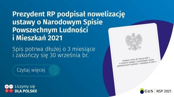 Od 1 kwietnia trwa Narodowy Spis Powszechny Ludności i Mieszkań.